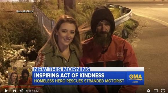 『最後の2000円』で女性を救ったホームレス男性、1カ月後に数千万円もの大金を得ることに「このお金で他のホームレスも助けたい」
