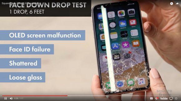 【悲報】iPhone Xは「最も壊れやすいiPhone」と海外で酷評される