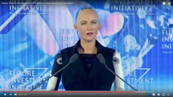 「人類を滅ぼします」と発言したヒト型ロボット「ソフィア(Sophia)」のスピーチ映像が怖い