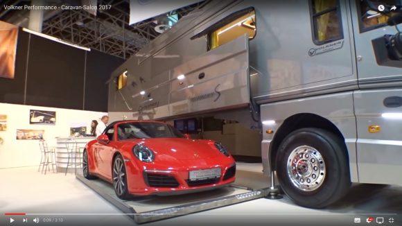 まるで高級ホテル!「1.9億円のキャンピングカー」が豪華すぎてヤバい / まさかの車庫付き
