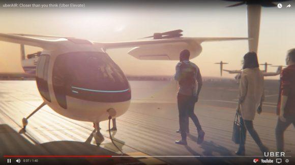 【米国の本気】Uberが『空飛ぶタクシー』の商業化へNASAと提携 / イメージ動画がリアル&マジ未来!