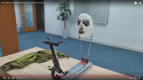 【マジかよ】iPhone Xの顔認証が「雑な3Dマスク」にあっさりと敗れる