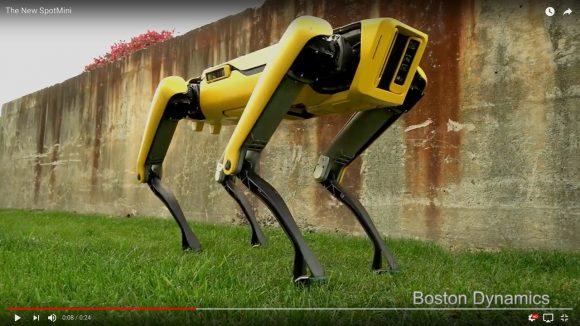 キモいと言われた「犬型ロボット」がスタイリッシュに進化! 新型の『SpotMini』がまるで生物!!