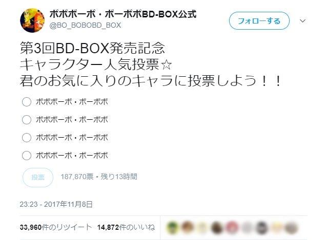 【伝説再び】「ボボボーボ・ボーボボ」公式Twitterがキャラクター人気投票を実施してるぞ! やっぱり全員ボーボボじゃねーか!!