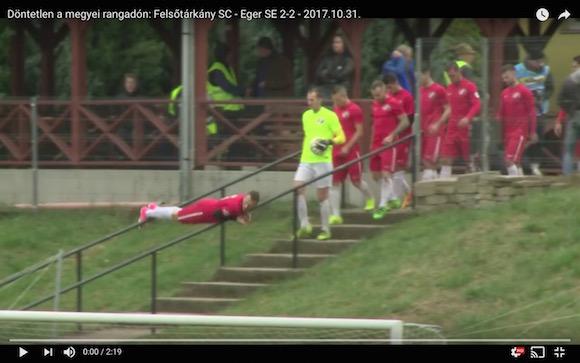 なんだこれは…! かつてないほどシュールな「選手入場」がハンガリーサッカーで激写される
