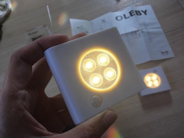 IKEAの『人感センサー付きLED照明』が爆安なくせにチョー使える! 価格は2つ入りで799円なり