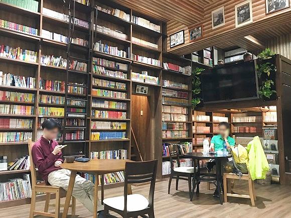 【大阪】なんばで1泊1700円から! 5000冊の本に囲まれた宿は男女ともに宿泊可能で超便利!!