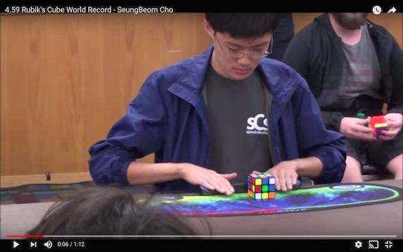 ウソだろ…ルービックキューブの最速記録がついに「4.6秒」の壁を破る