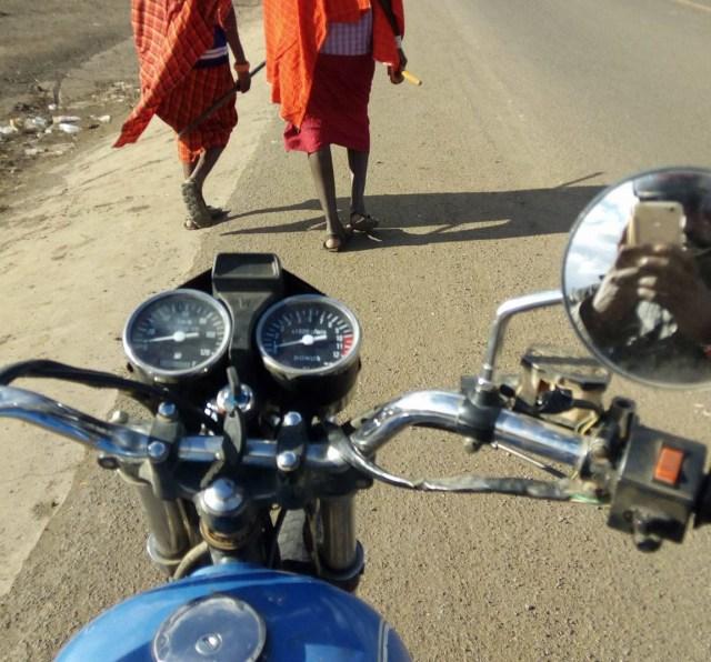 「バイクの魅力」を語るマサイ族の戦士 / マサイ通信:第114回