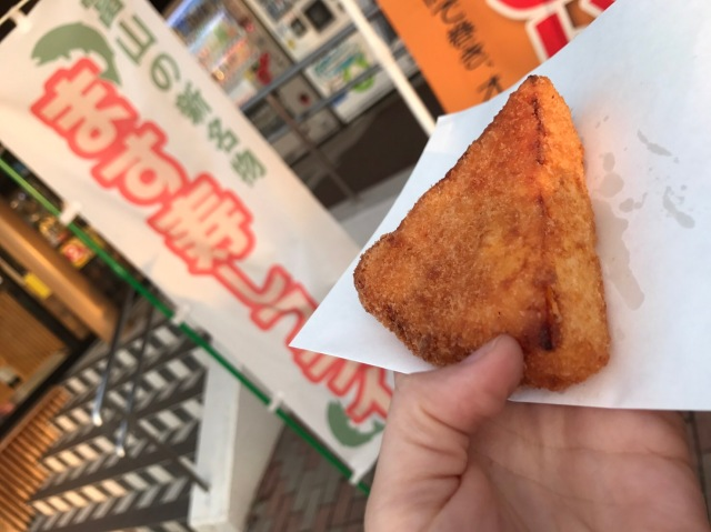 【衝撃グルメ】寿司を油で揚げると美味! 『ます寿司フライ』がフィレオフィッシュみたいでウマい / アメリカじゃないよ! 富山で売ってたよ