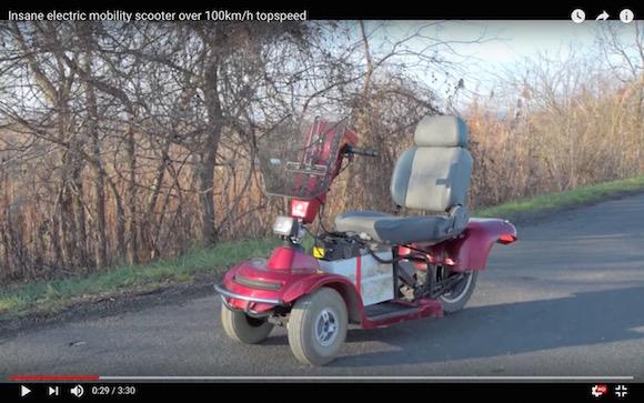 【魔改造】最高時速100キロのシニアカーが二度見せずにはいられない爆速仕様