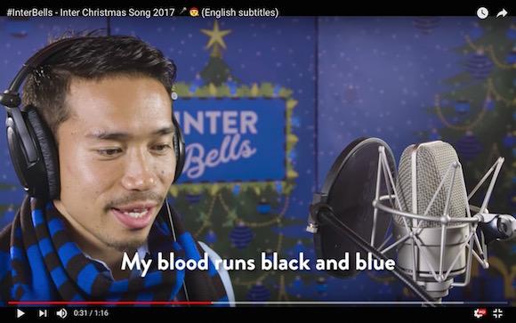 【動画あり】長友佑都選手の歌がメチャうまい / センターに抜擢されて『ジングルベル』を熱唱