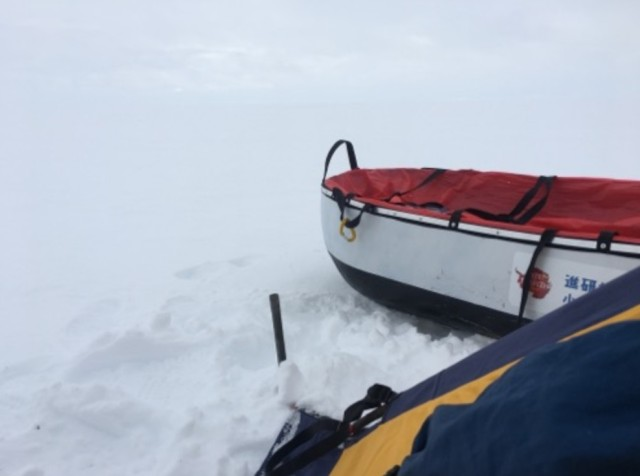 【南極冒険34日目】北極冒険との違いを改めて痛感 / 南極では「進行」を計算できる