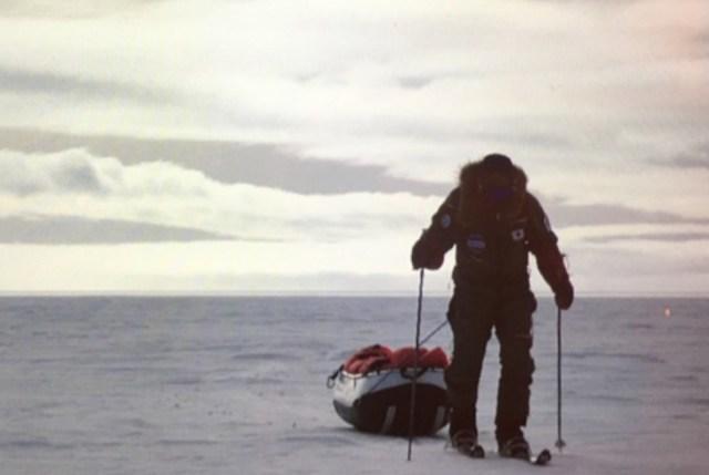 【南極冒険36日目】冒険中の荻田氏から問題です! 南極点到着はいつでしょうか?