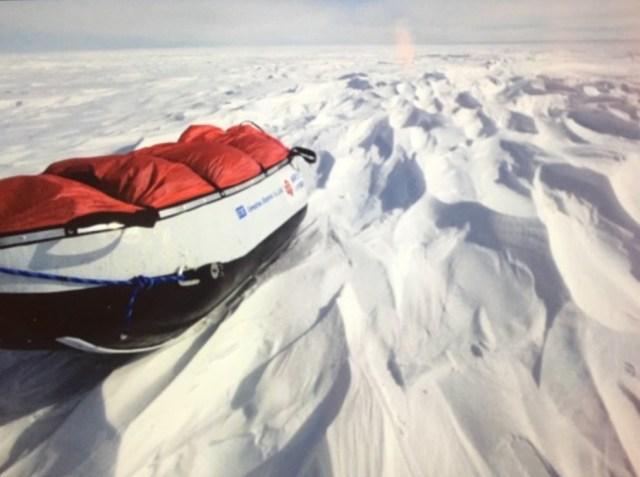 【南極冒険37日目】標高2000m台に到達 / 険しい登り坂を越えて目指すのは南緯88度