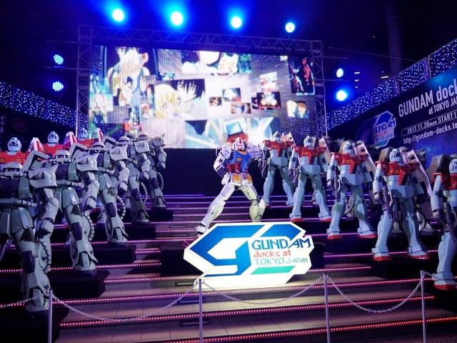 【画像大量】日本初の「ガンダムドックス」がお台場をジャック中! 実物大ユニコーンガンダム立像は超デカイ上に変形するぞォォォオオオ!!