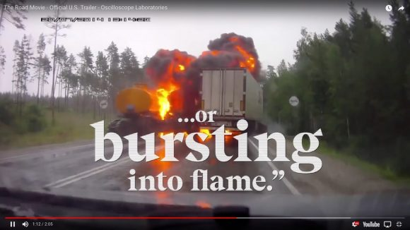 まさにおそロシア! ドライブレコーダーの記録を集めたドキュメンタリー映画『THE ROAD MOVIE』がマジ狂気