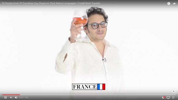 これは興味深い! 世界70カ国の「乾杯」の言い方がわかる動画