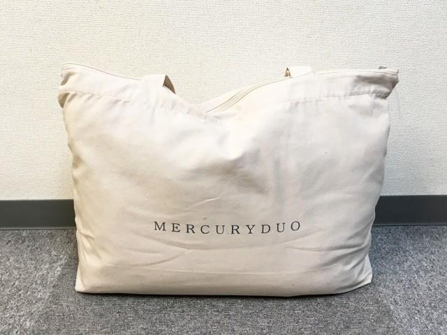 【2018年福袋特集】ギャル系が神戸系ブランド『MERCURYDUO(マーキュリーデュオ)』の福袋(1万2960円)で全身コーデした結果、お嬢様系に
