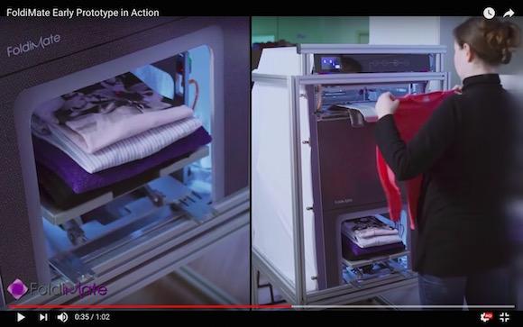 洗濯物を自動でたたんでくれるマシンが爆誕 / 気になる値段は約11万円