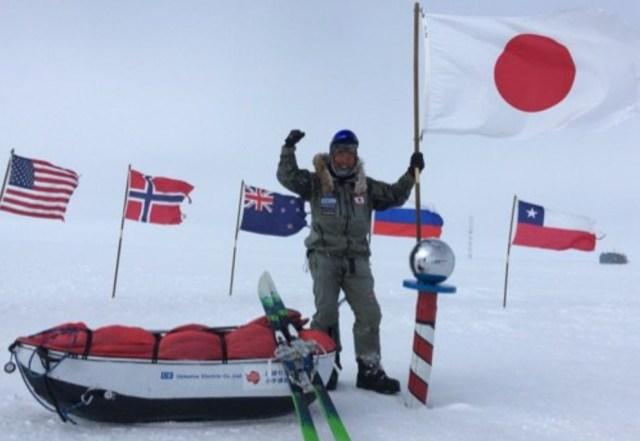 【南極冒険50日目】日本人初! 南極点無補給単独徒歩ついに達成!! 荻田泰永氏が偉業を成し遂げる!