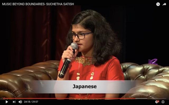 【スゴすぎて理解不能】インドの天才少女(12)が6時間のコンサート中に102カ国の歌をその国の言語で歌って2つの世界新記録を樹立