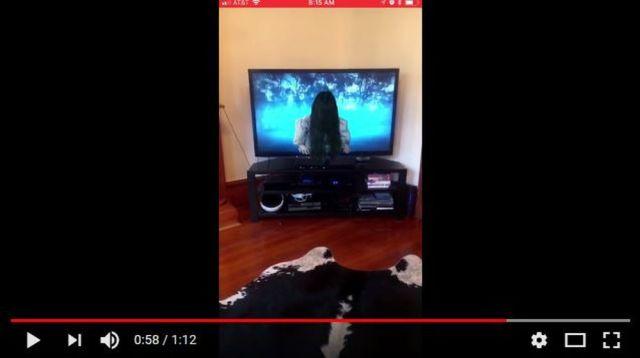 「AppleのARKitを使って『リング』の貞子がテレビから這い出して来るようにしてみた」って動画にマジで背筋が凍る…
