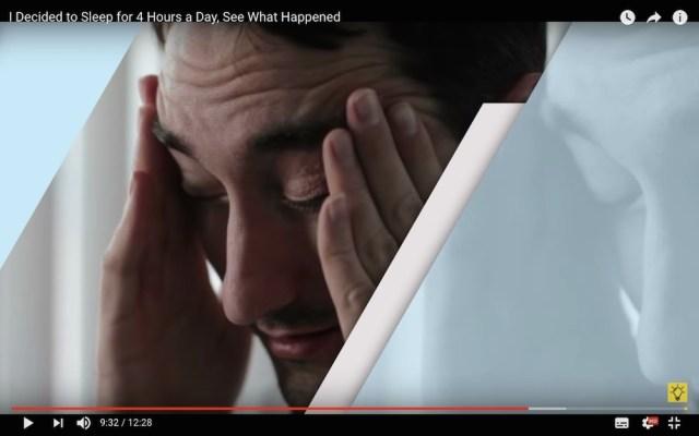人は4時間睡眠でも大丈夫なのか → ある男性が「睡眠4時間に昼寝を加えた分割睡眠」を試した結果…