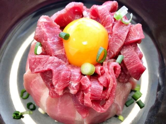 【衝撃】ラーメン屋だと思って入ったら「馬肉丼」があったので頼んでみた → なにこれ激ウマ! 東京・銀座『HANABI(ハナビ)』