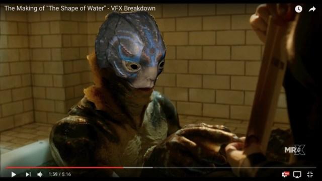 え、これがCG!? 映画『シェイプ・オブ・ウォーター』のメイキング動画で種明かしされた映像技術がマジでスゲぇ!