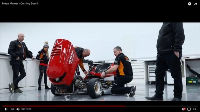 世界最速を叩き出した「ホンダの芝刈り機」がさらにパワーアップ! 時速200キロも夢じゃないかも!!