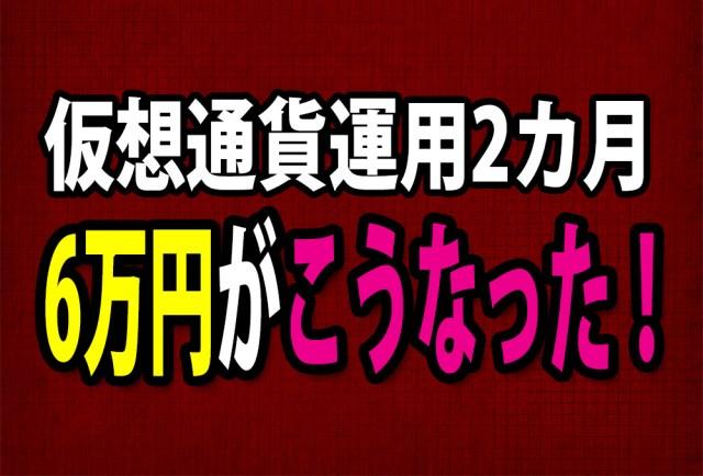 【リアル】仮想通貨に6万円ツッコんだら、2カ月でこうなった! 終わりなき旅路の果てに……