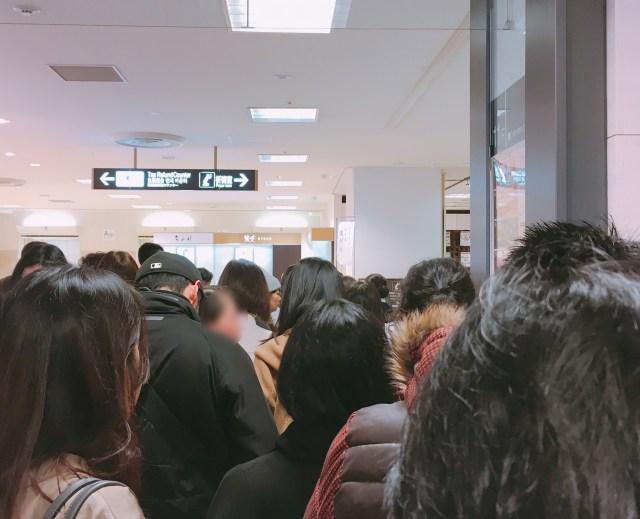 【コミケかよ!?】新宿・高島屋に催事出店している「慈げん」にかき氷を食べに行ったら、鬼のような行列ダッシュに震えあがった件