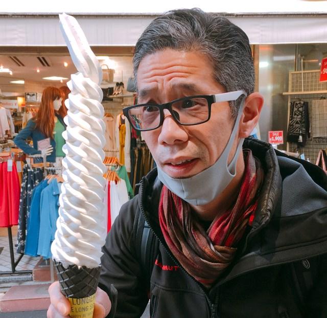 【インスタ女子注目】日本一長いソフトクリームを提供するお店が東京・原宿にオープン! マジでなげぇえええええええええッ!!