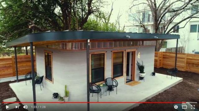 【建築費40万円】想像以上にオシャレ! 3Dプリンターを使って24時間で建てられた家がこちらです
