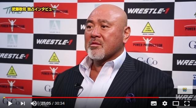 【動画あり】武藤敬司「人生最後のムーンサルトプレス」がこちらです