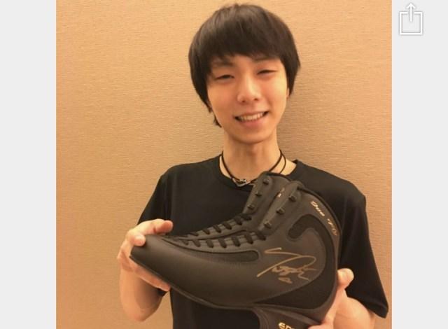 【衝撃】ヤフオクで出品中の「羽生結弦直筆サイン入りスケート靴」が1億円を突破ァァアア! 残り3日でいくらまで行くのか!?