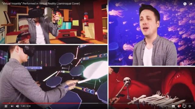VRの可能性ハンパねぇ! ジャミロクワイの『Virtual Insanity』をヴァーチャル・リアリティ上の楽器で演奏してみたっていう動画