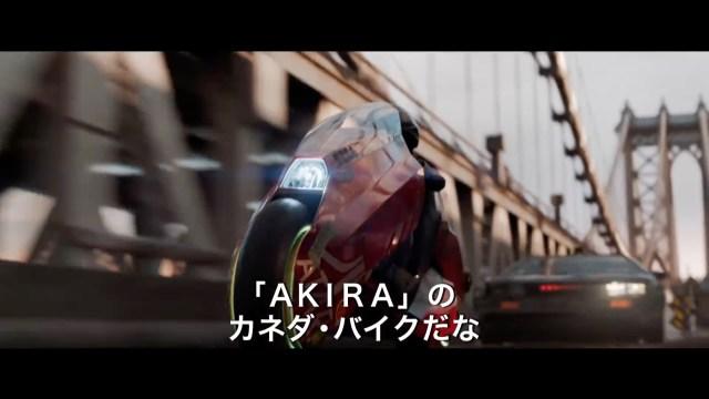 金田のバイクとデロリアンなどがチェイスしまくり! スピルバーグ監督『レディ・プレイヤー1』がメチャ面白そう / 3分間の本編映像あり