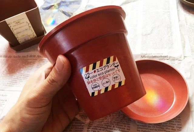 【100均検証】セリアで買った植木鉢『カラーエコプランター』は知れば知るほど欲しくなることマチガイナシの完璧すぎる百均良品