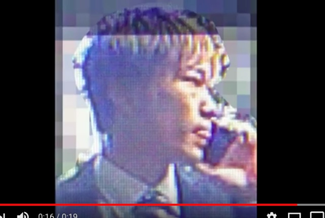 【公開捜査】娘を装ったオレオレ詐欺事件で公開された被疑者(男性)の姿がこちらです