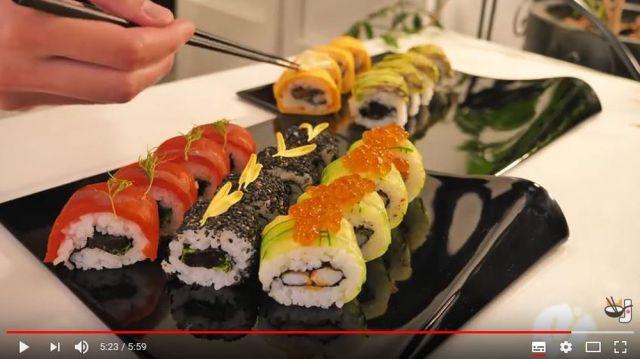 アメリカ風に改造された「巻き寿司」が意外と美味しそう! 日本人YouTuberの寿司動画に興味津々!!
