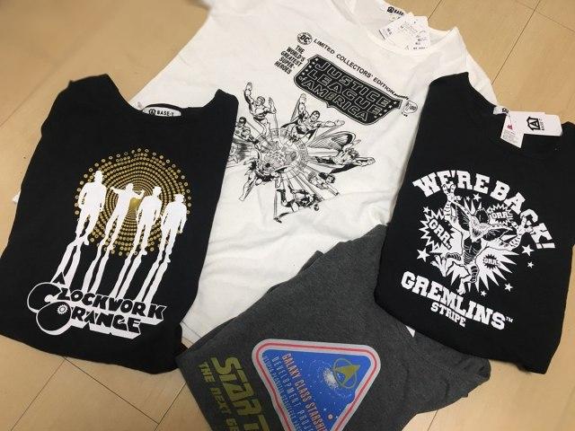 イオン「映画&DCコミックTシャツ」が激アツすぎィ! GWはユニクロ行ってる場合じゃねえ / キューブリック作品にスタトレ! 名作Tが2枚以上で1枚750円の異常事態