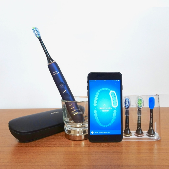 【超高性能】電動歯ブラシ『ソニッケアー』の最上位機種がスゴすぎた! ブラシの種類を自動認識&アプリと連動してブラッシング指導など