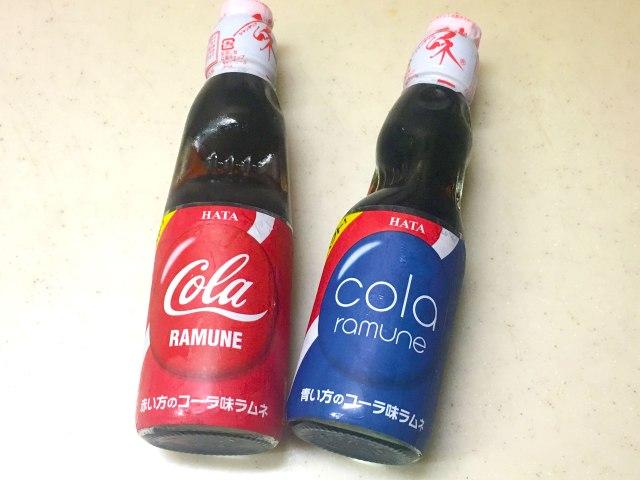 【リスペクトの結果】どう見ても「ペプシ」で「コカコーラ」なラムネを飲んでみた