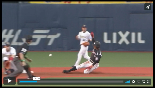 【動画あり】たぶん現役プロ野球選手最速! 千葉ロッテ「荻野貴司」がやっぱり速い!!