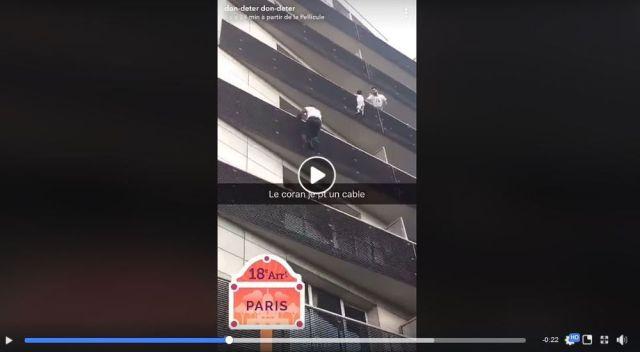 4階から落下寸前だった男児を 「たった30秒でベランダをよじ登り救出したアフリカ人男性」がヒーローに! 最後に感動的な結末が