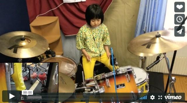 8歳の日本人少女ドラマー「よよか」がネット上で大きな話題に / レッド・ツェッペリンを完コピする動画をレッチリのチャド・スミスも絶賛