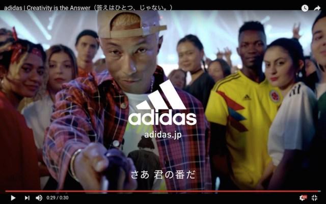 【超豪華】W杯に向けて制作された「adidasのCM」がカッコよすぎると話題