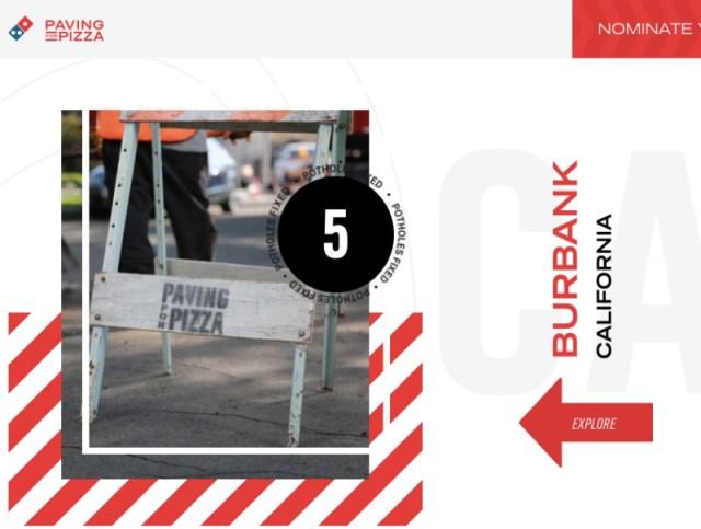 米ドミノピザが道路の隆起や窪みを補修するキャンペーンを開始! その理由がピザ絡みでオモロいと話題に